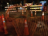 Night OSP Construction Downtown -2015